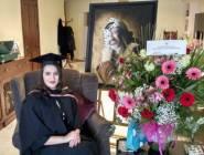 الرئيس الفلسطيني يهنئ ابنة الشهيد ياسر عرفات بمناسبة تخرجها