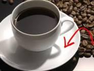 لماذا نضع صحنًا صغيراً أسفل فنجان القهوة؟