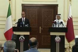 اتفاق عسكري ايطالي مع قطر