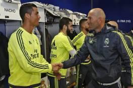 زيدان سيكشف اليوم اسرار غرفة ملابس ريال مدريد