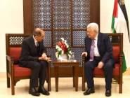 استقبال الرئيس لوزير الداخلية الأردني