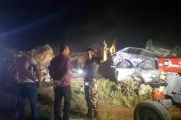 بالفيديو: الدفاع المدني يسيطر على حريق 900 مركبة في جنين