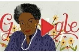 جوجل  يحتفل بذكرى ميلاد مايا أنجيلو