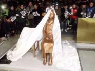 """كوريا الجنوبية: وضع تمثال """"نساء المتعة"""" أمام القنصلية اليابانية أمر مؤسف"""