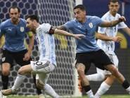 """بـ""""تمريرة سحرية"""" من ميسي.. الأرجنتين تهزم أوروغواي"""