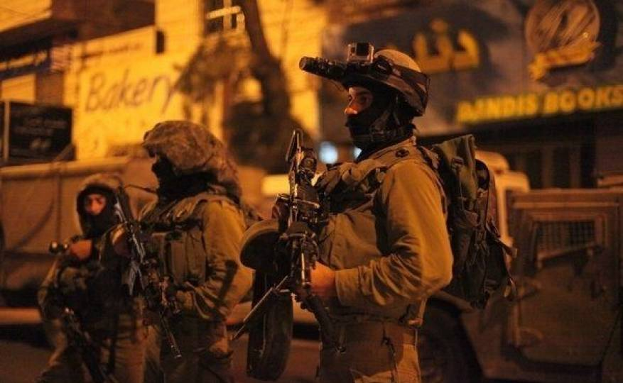 قوات الإحتلال تعتقل 9 مواطنين من مناطق متفرقة من الضفة