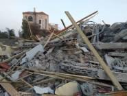 هدم 4 منازل عربية في مدينة اللد المحتلة