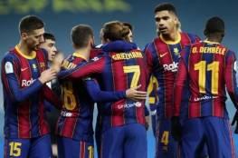 تشكيلة برشلونة المتوقعة في مباراة اليوم ضد رايو فاليكانو