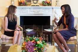 أمريكا : بماذا نصحت زوجة أوباما زوجة ترامب قبل دخولها البيت الأبيض؟