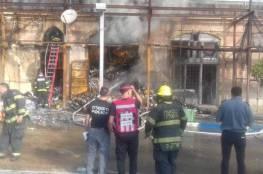 وفاة مواطن وزوجته في حريق اشتعل بمنزلهما فجر اليوم