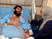 وهو مكبل اليدين والقدمين.. أطباء الاحتلال يقومون بتغذية الأسير القواسمة قسرا وبالقوة