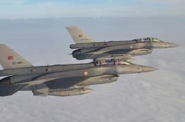 """سلاح الجو التركي يشن غارات على مواقع """"العمال الكردستاني"""" شمالي العراق"""