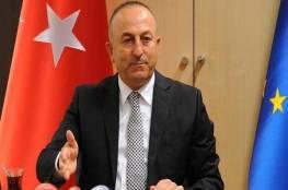 وزير خارجية تركيا ينتقد دعم روسيا للنظام السوري