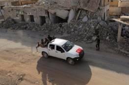 وحدات من الجيش التركي سيطرت على طريق سريع بين الباب وحلب