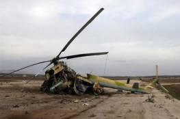 مقتل 7 أشخاص في تحطم مروحية عسكرية عراقية