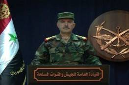 فيديو .. الجيش السوري يعلن تدمير قسم كبير من الصواريخ الاسرائيلية واستشهاد 3 سوريين في العدوان