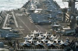 حاملة طائرات أمريكية تثير سخرية الصينيين..