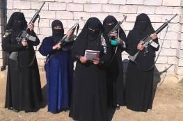 """العراق : نساء """"داعش"""".. قناصات على أسطح المباني بالموصل"""