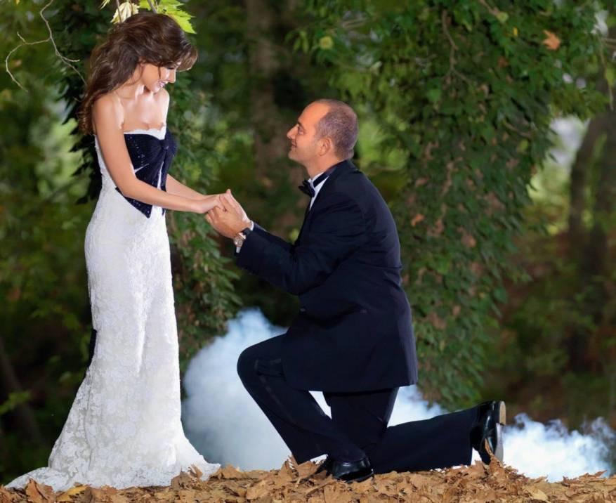نانسي عجرم تكشف- حفل زفافي أُقيم بناء على رغبة الأهل