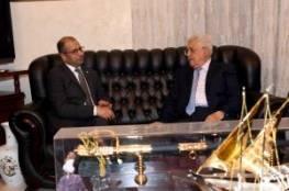 الرئيس  يستقبل رئيس مجلس النواب العراقي