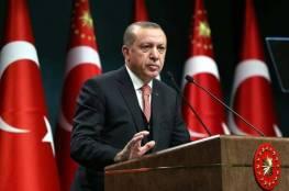 الرئيس أردوغان يبحث تطورات القدس مع نظرائه الكازاخي والأذري واللبناني