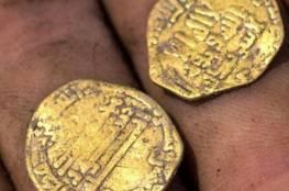 العثور على كنز من العصر العباسي يشمل 425 قطعة ذهبية في فلسطين