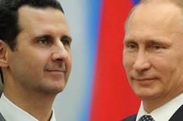 سوريا: بشار  يعزي بوتين في ضحايا الطائرة الروسية المنكوبة