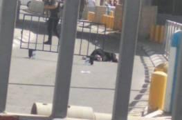 استشهاد فلسطينية على حاجز قلنديا