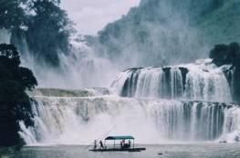 بان جيوك ديتيان شلالات على الحدود بين الصين و فيتنام