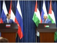 فلسطين وروسيا الاتحادية يوقعان 6 اتفاقيات تعاون بينهم