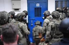 """توتر شديد يسود سجن النقب بعد اقتحام قوات """"المتسادا"""" قسم 24"""