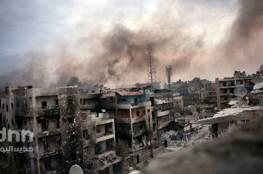غارات للنظام السوري على حي الوعر بحمص....قتلى وجرحى