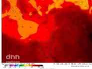 مناخ : المنخفض الهندي الموسمي يتجه نحو دول الخليج، ويرسل اولى هداياه نحو بلاد الشام
