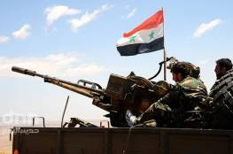 دمشق : جيش النظام السوري يعلن تدمير تجمعات وآليات لداعش بريف حمص