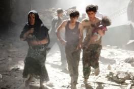 المرصد السوري : مقتل 9 أشخاص بضربات جوية في إدلب