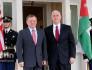 الملك عبد الله يلتقي عددا من كبار المسؤولين في الإدارة الأميركية لبحث التطورات في الشرق الأوسط