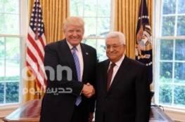 الرئيسان عباس وترامب يؤكدان التزامهما بالعمل للتوصل إلى صفقة سلام تاريخية