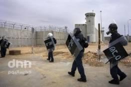 الأحتلال ينقل 480 أسيرا في سجن النقب كعقاب تعسفي