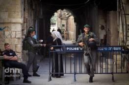 الأحتلال يفرض اغلاق كامل على الضفة وقطاع غزة
