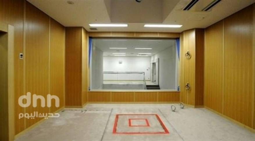 غرفة الاعدام في أحد السجون اليابانية في طوكيو