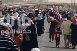 العراق : نزوح أكثر من 200 ألف شخص غربي الموصل