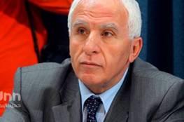 عزام الأحمد: الموقف الفلسطيني أجل إعلان صفقة القرن