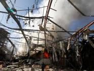 مصرع  8 انقلابيين بغارتين للتحالف في شبوة باليمن