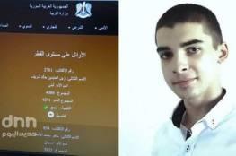 طالب فلسطيني يحصل على المرتبة الأولى بالثانوية على مستوى سوريا