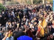 """الإيرانيون : المتظاهرون يتوعدون النظام  بـ""""جمعة غضب"""""""