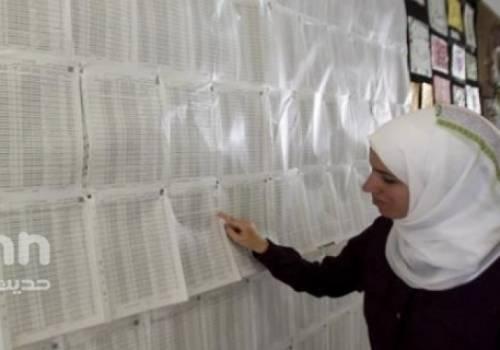 لجنة الانتخابات المركزية تنشر الكشف الأولي لأسماء القوائم والمرشحين