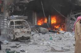 تجدّد الغارات على شرق حلب