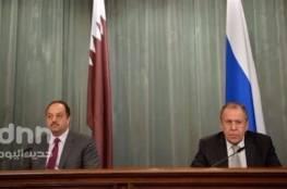 لافروف: روسيا مهتمة بمناقشة تسوية الأزمة السورية مع قطر