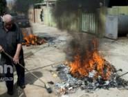 بلدة قرقوش العراقية المسيحية تتخلص من آثار تنظيم داعش الإرهابي بحرقها....تبدأ مرحلة العودة والإعمار