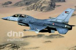 سلاح الجو الأردني يشن غارات على مواقع لداعش جنوب سوريا
